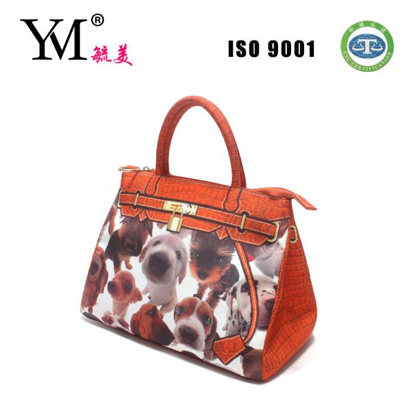 Fashion Promotional Cute Animal Printing Handbag