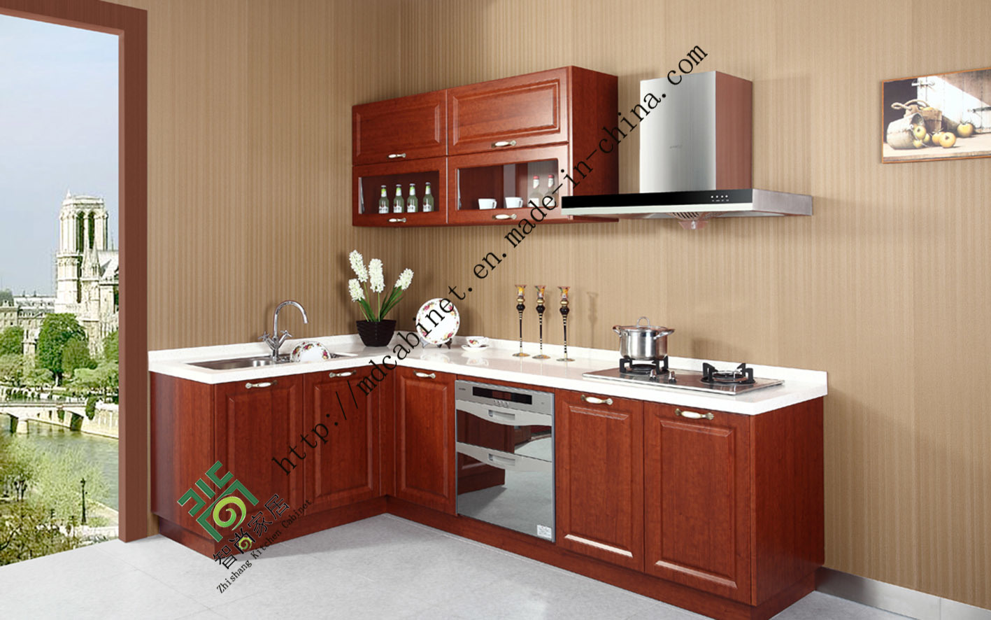 Wonderful image of  Wood Kitchen Cabinet (zs 320) Photos & Pictures Made in china.com with #733020 color and 1417x886 pixels