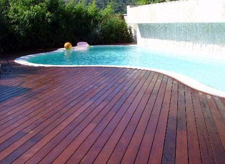 Decking materials outdoor bamboo decking material for Garden decking materials