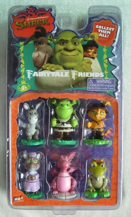 China Shrek Figures China Shrek Ben10