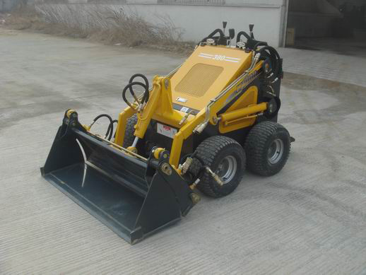 Mini Skid Steer Loader with CE (Augger Attached)