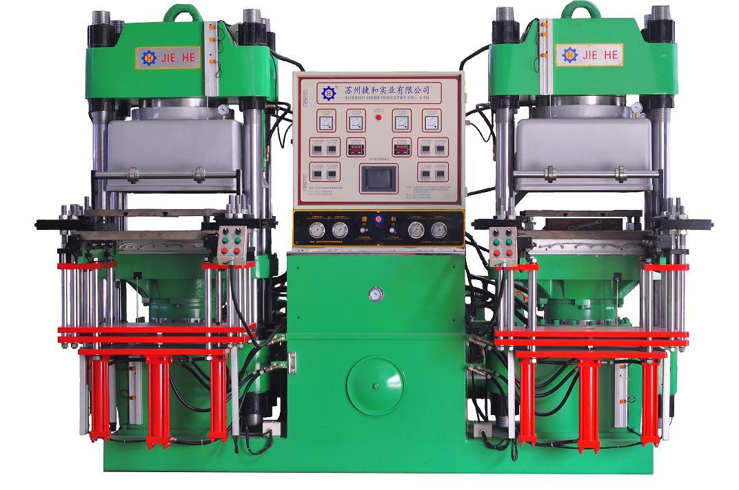 Silicone Rubber Vacuum Hot Press Forming Machine