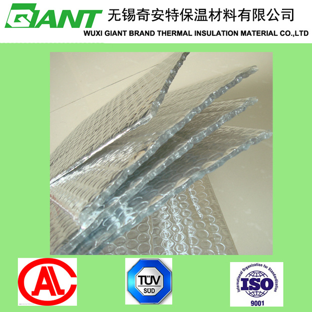 Bubble Foil Heat Insulation with Aluminum Foil and PE Bubble