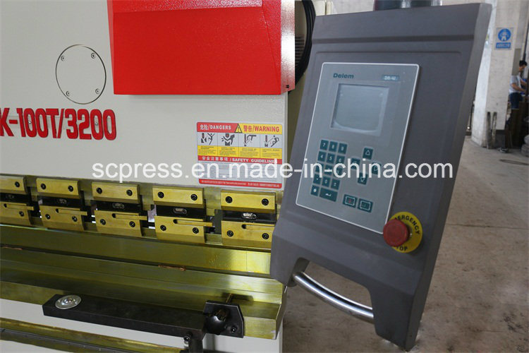 We67k-100tx2500mm Rolled Sheet Hydraulic Press Brake