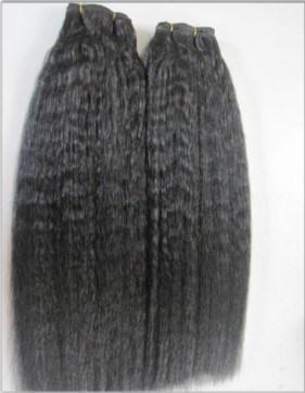 Kinky Straight Hair Weft 121