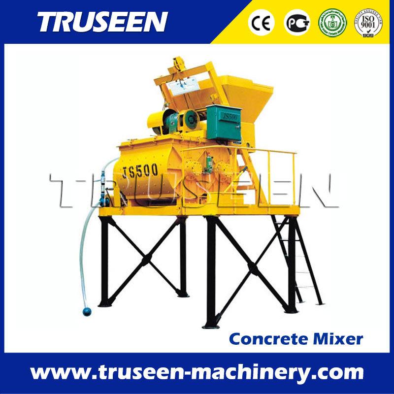 Bucket Hoist Type Portable Cement Mixer Machine 0.5-0.75m3 Concrete Mixer