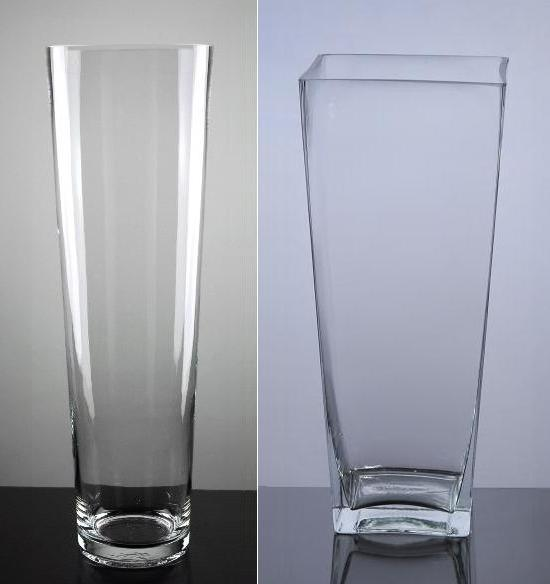 Clear Glass Vases - Wedding Decorations | Party Supplies | Home Decor
