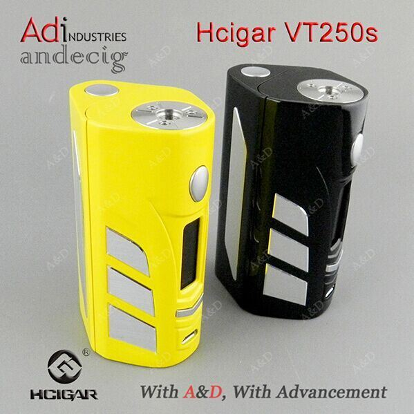 2017 Newest 100% Original Hcigar Vt250s Box Mod/DNA 250 Tc Mod