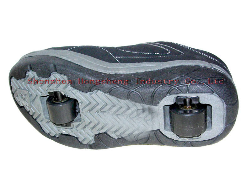 Double Wheel Roller Shoes -4