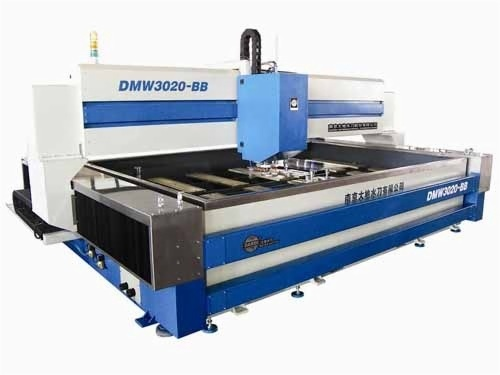 KMT Waterjet Systems For stone cutting, metal cutting, glass cutting, water jet steel cutting. Speed, productivity and efficiency benefits of water jet cutting.