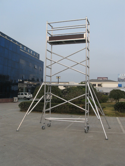 Aluminum Scaffold Tower : China aluminum mobile tower scaffolding