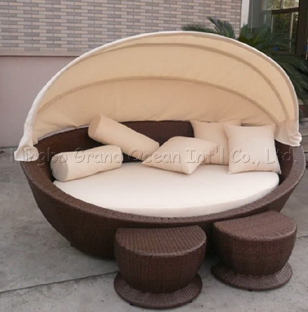 Wicker sofa bed rf9141 china sofa bed bed for Wicker futon sofa bed