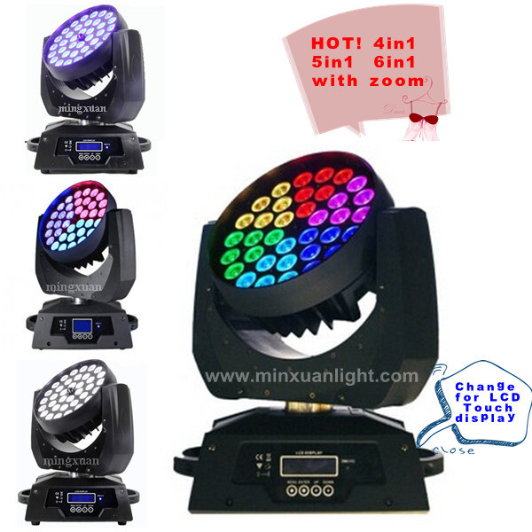 Professional 36*10W LED Moving Head Wash with Zoom (YS-205)