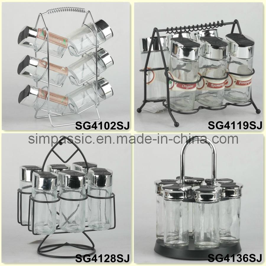 Spice Jar Set / Salt & Pepper Shaker / Cruet Set (SG4102SJ / SG4119SJ / SG4128SJ / SG4136SJ)