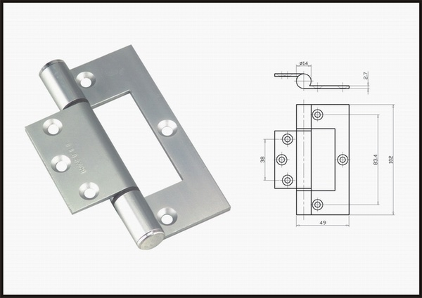 Casement Window Hinges : Casement window where is the hinge on a