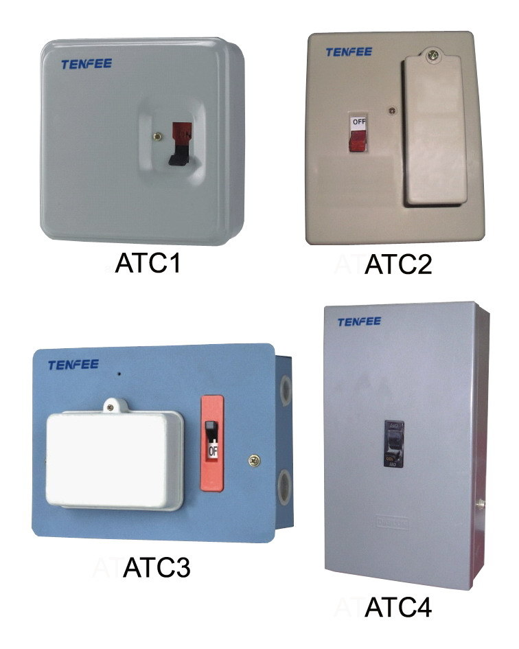 China fuse combination switch distribution box metal