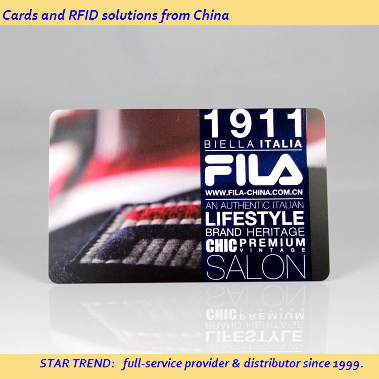 Cmyk 0.76mm Cr80 PVC Card for VIP Member