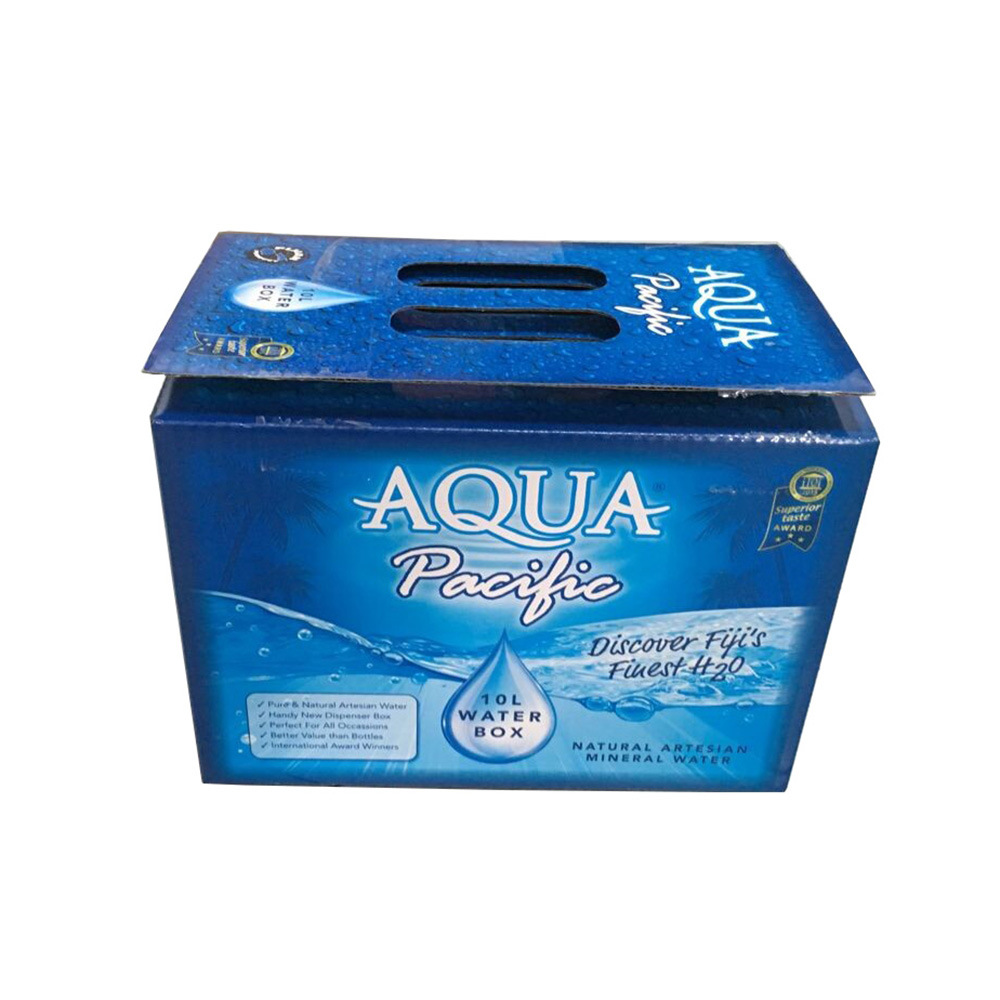 Custom Printing Corrugated Liquid Packing Box with Handle