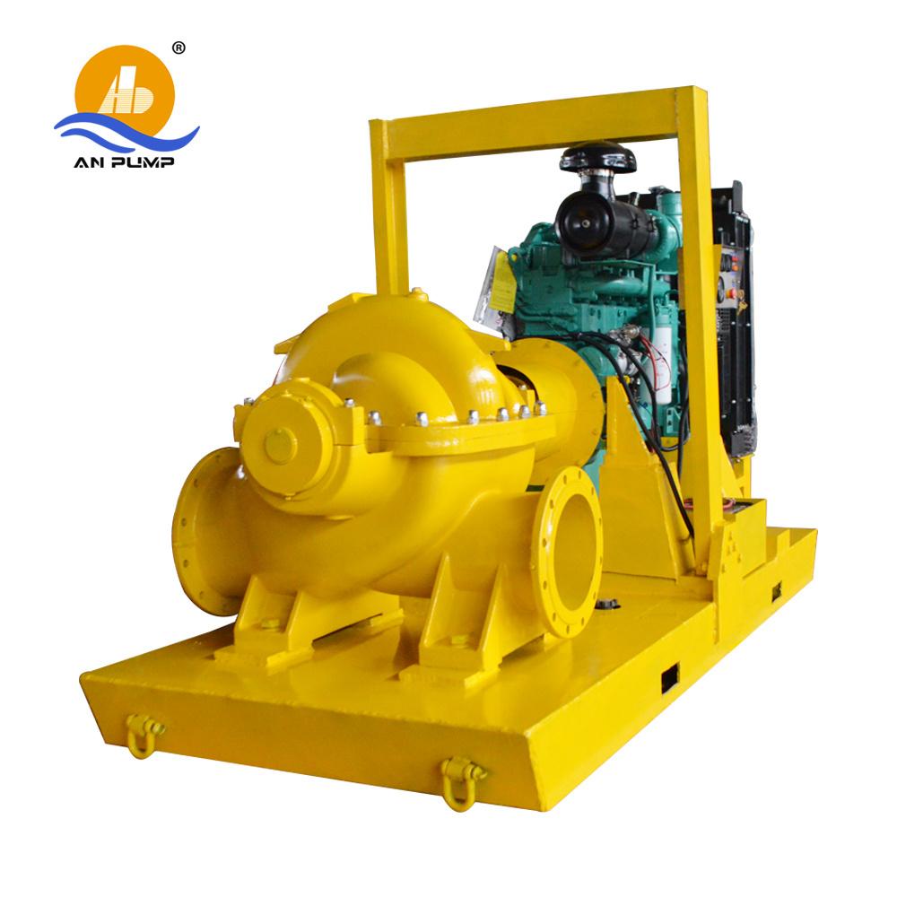 Large Volume Split Casing Diesel Water Pump for Irrigation