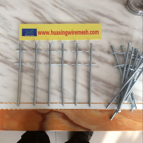 Galvanized Travel Camping Tent Pegs