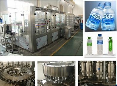 3000-4000bp Pure Water Filling Equipment
