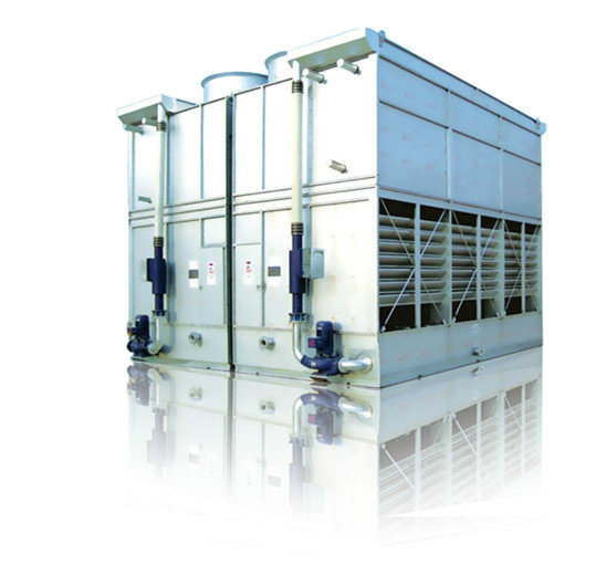 Evaporatively Cooled Screw Chiller with R22 Refrigerant