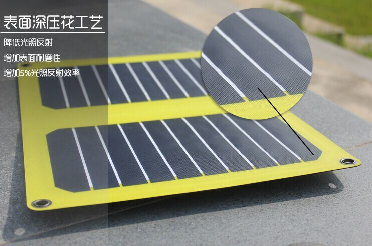 Best Sale 6V/6W Thickness Solar Mobile Charger Bag in Lowest Cost