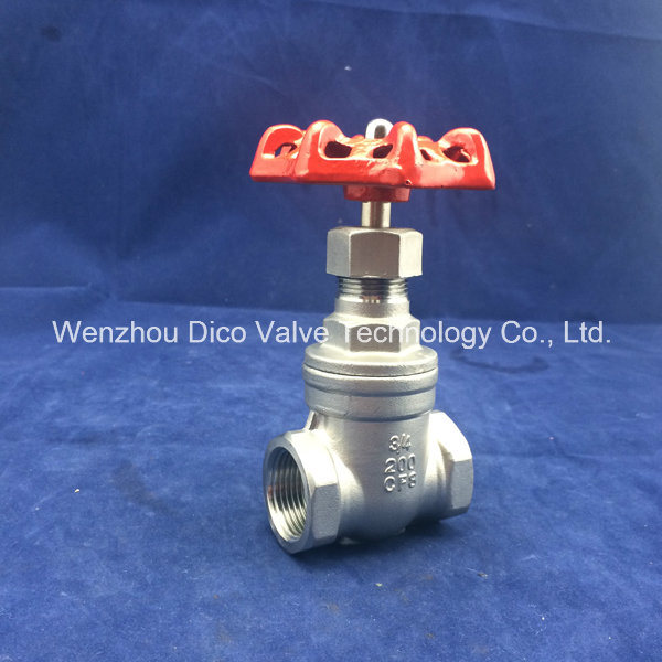 Heavy Type Stainless Steel CF8/CF8m Handle Wheel Gate Valve