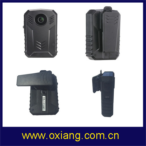 Built in GPS 32g Police Camera Wide Angle 140 Degree IP67 Police Wearable Body Camera