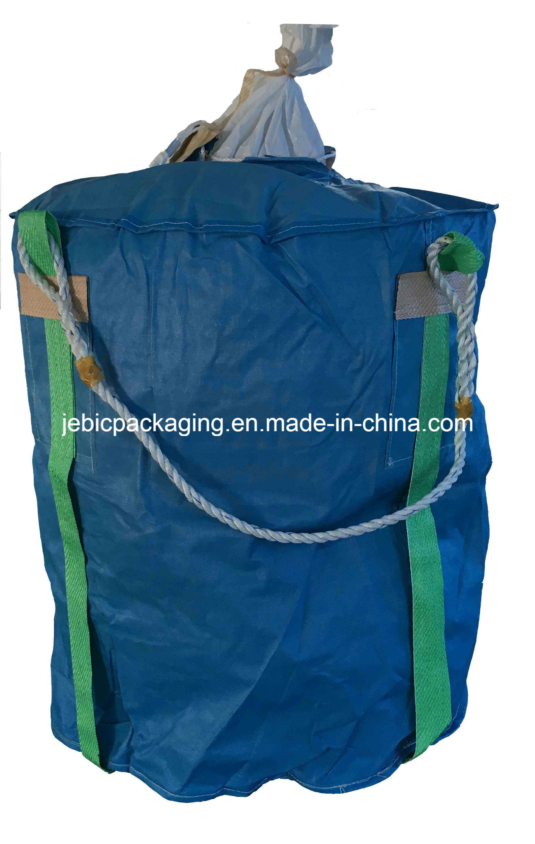 Blue Fabric FIBC Bag