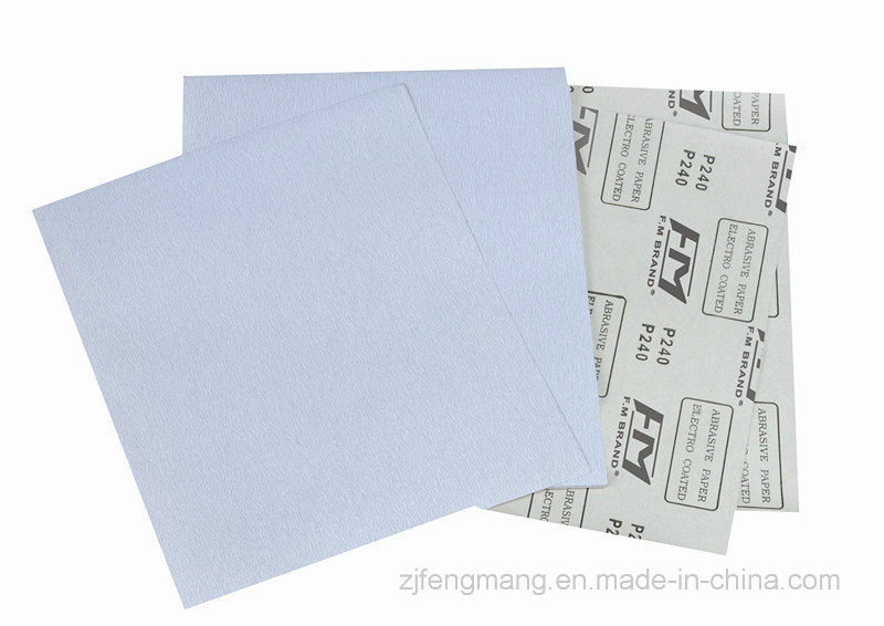 C-Wt Latex Paper Aluminum Oxide Abrasive Paper/Sandpaper FM78