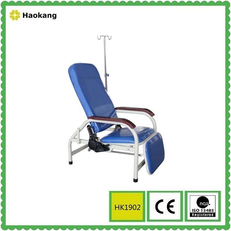 Portable Hospital Bed for Sickroom Sleeping Chair (HK-N701)