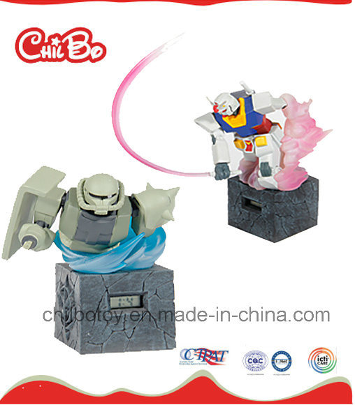 Robot Action Figure with Electronic Toy Clock (CB-PM012-M)