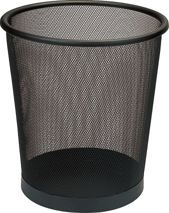 Round Metal Mesh Waste Basket for Hotel & Office (GPX-74-12)