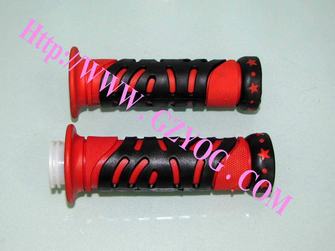 Yog Modified Motorcycle Spare Parts Handle Grips Red Blue Silver Chrome Multi Colors Decoration Parts