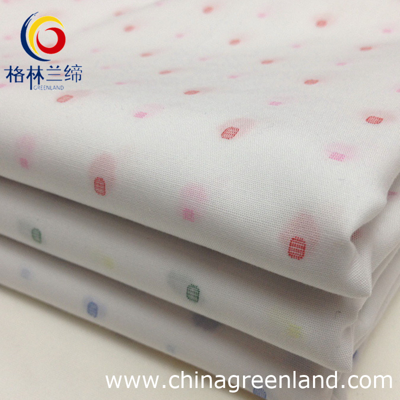 80s 100%Cotton Jacquard Yarn Dyed Fabric