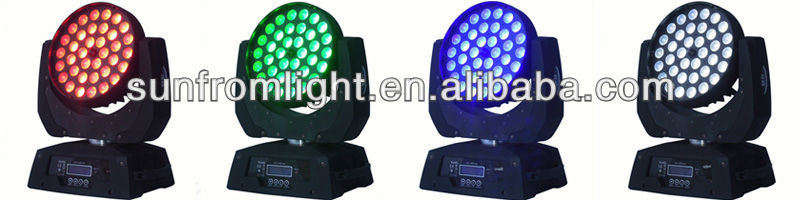 36 10W Zoom LED Moving Head Wash and Beam Light