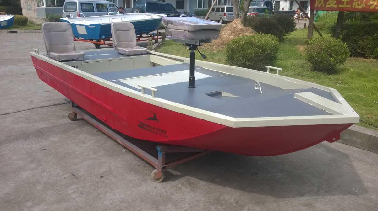 Aluminium Boats for Bass and Panfish (LURE11-14)