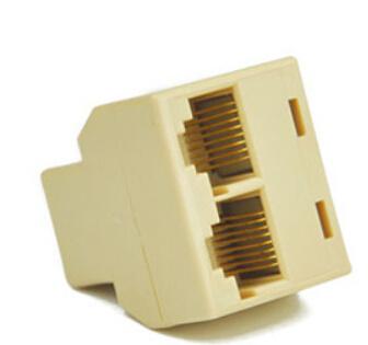 Manufacturer 8p8c RJ45 Network Splitter Network Cable Connector