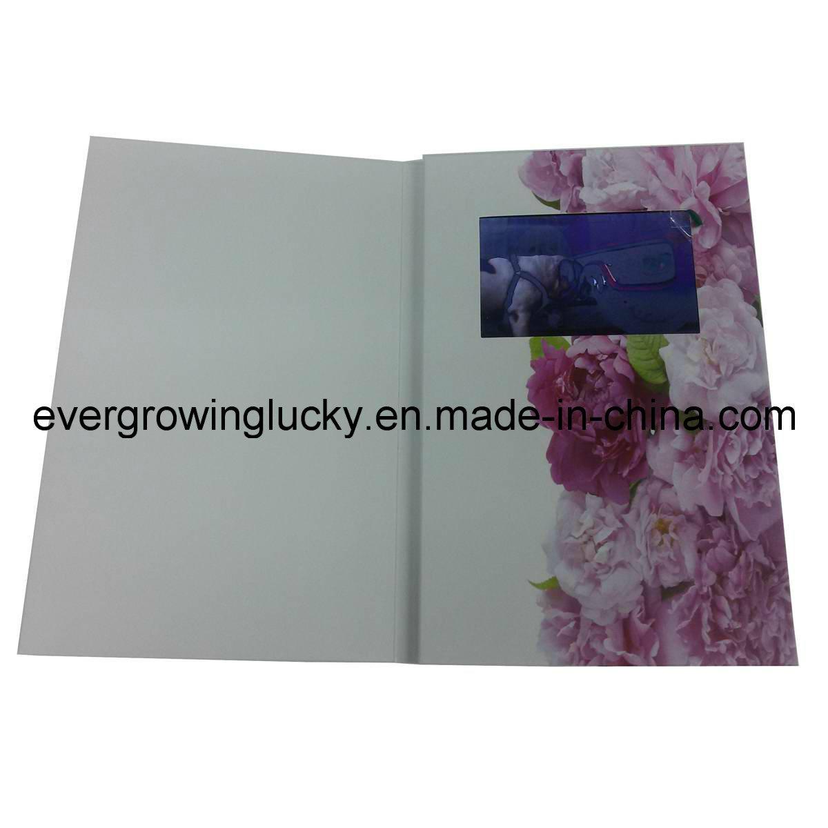 Custom Video Wedding Card for Invitation