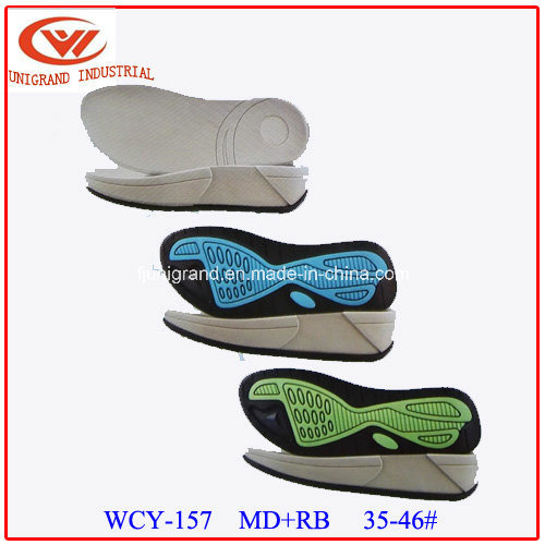 EVA Rubber Material Sandals Sole for Making Shoes
