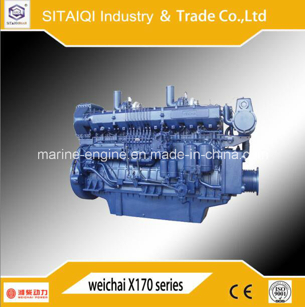 720HP Weichai 8170zc Marine Engine for Ship