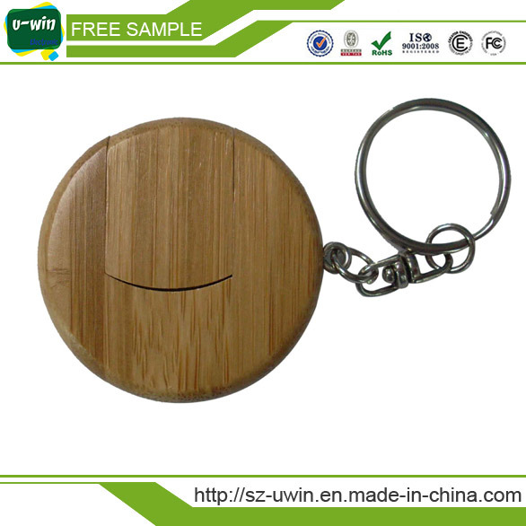 Wooden USB Flash Disk with Engrave Logo