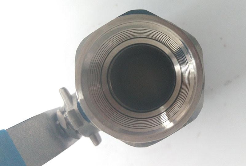 1000wog Casting Steel 2PC Ball Valve