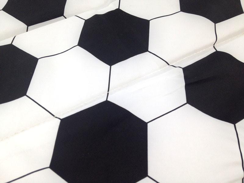 Soccer Design Foldable Seat Cushion