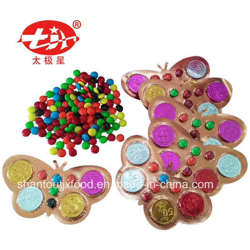 Plast Packing Butterful Chocolate Coin