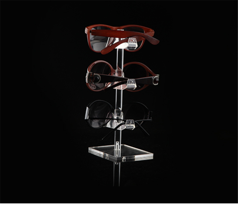 Countop Acrylic Eyewear Stands, Sunglasses Display Stands, 1 Pair to 6 Pairs