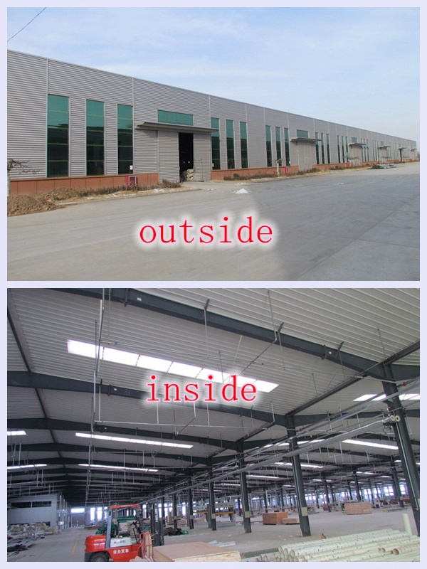 Steel Workshop with Installation From China Manufacturer