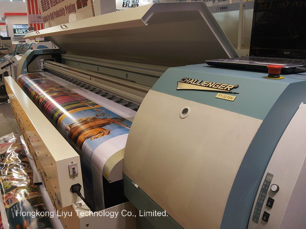 Outdoor Digital Solvent Wide Format Printer (FY-3278N with 8PCS Seiko Spt510 print head)