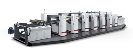 High Speed Flexography Printing Machine for Paper or Film